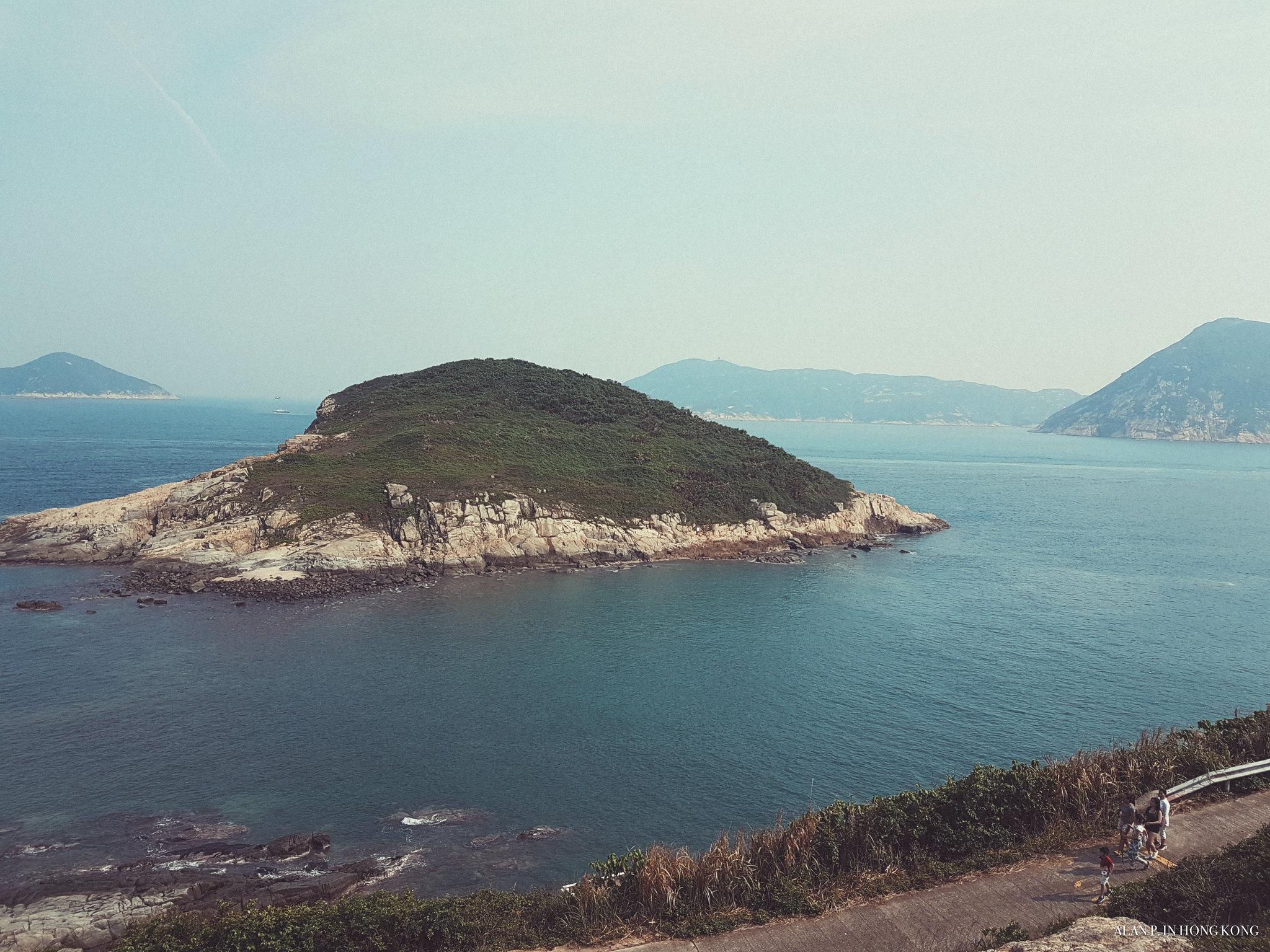 Island by an island