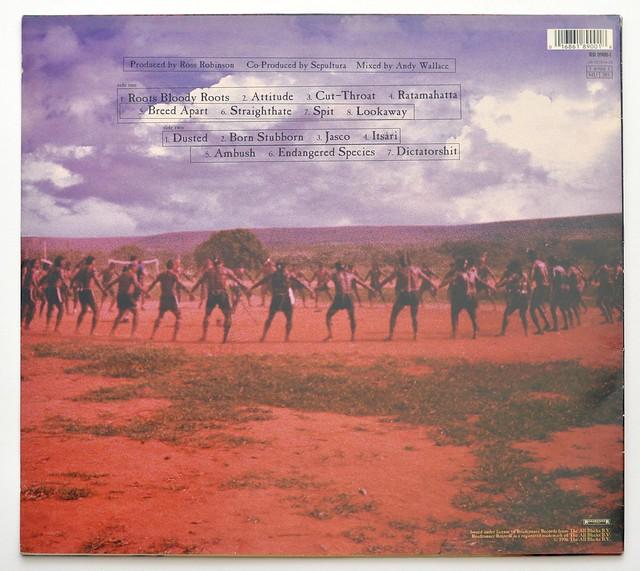 """SEPULTURA ROOTS BRAZILIAN THRASH METAL 12"""" LP ALBUM VINYL"""