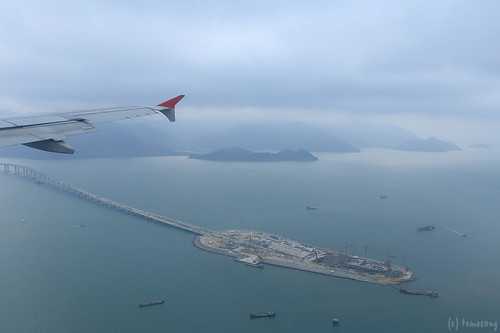 Flight to Hong Kong