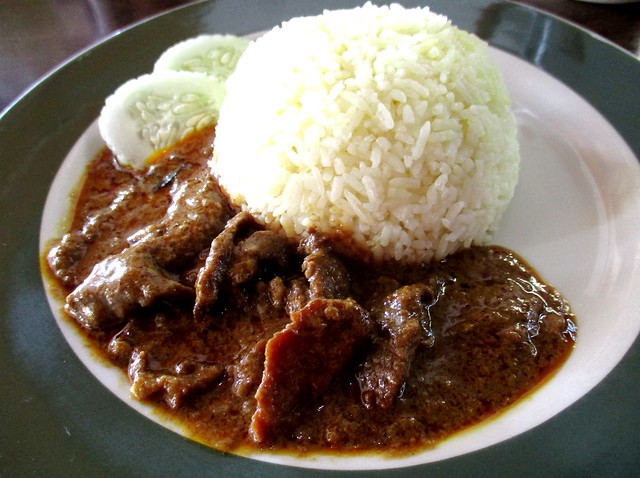 Colourful Cafe curry beef rice