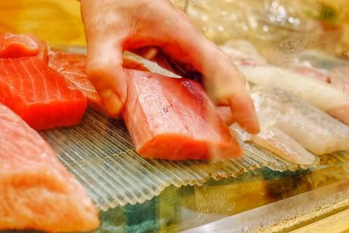 Sushi Show Case