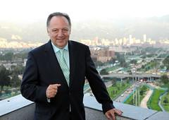 Efraín Forero, presidente de Davivienda