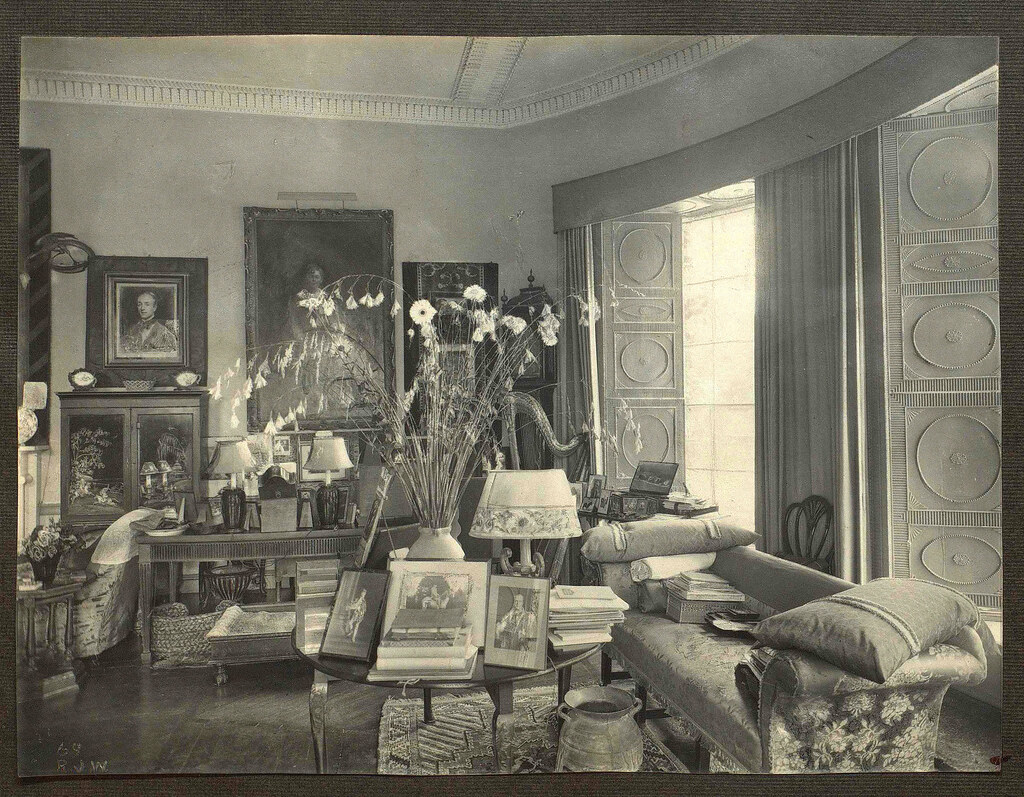 Lady Londonderrys Study At Mount Stewart 1930s