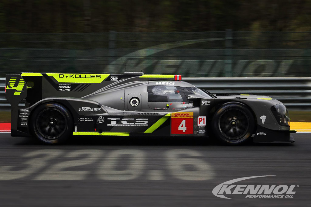 KENNOL and ByKolles break top speed all time record at Spa!