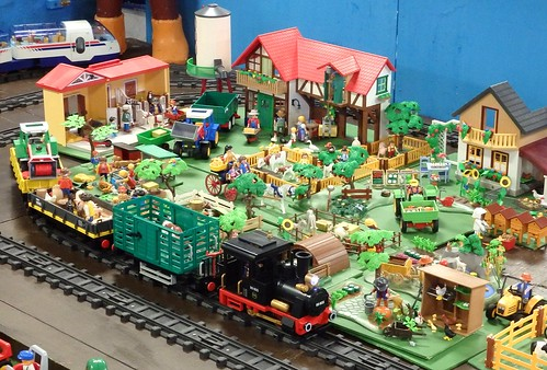 Playmobile railway