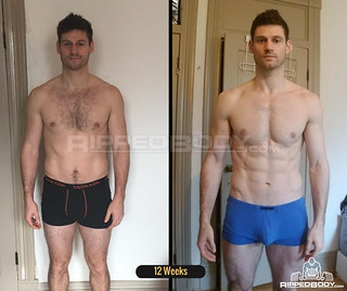 Nathan 12 Weeks Results | by RippedBodyjp
