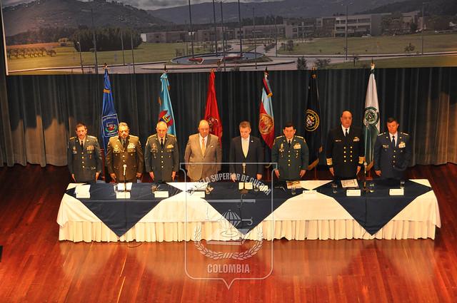 """Aniversario Escuela Superior de Guerra """"General Rafael Reyes Prieto"""" 108 años"""