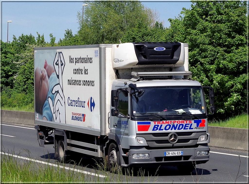 Mercedes atego 1324 transports blondel saint quentin f for Garage mercedes saint quentin 02