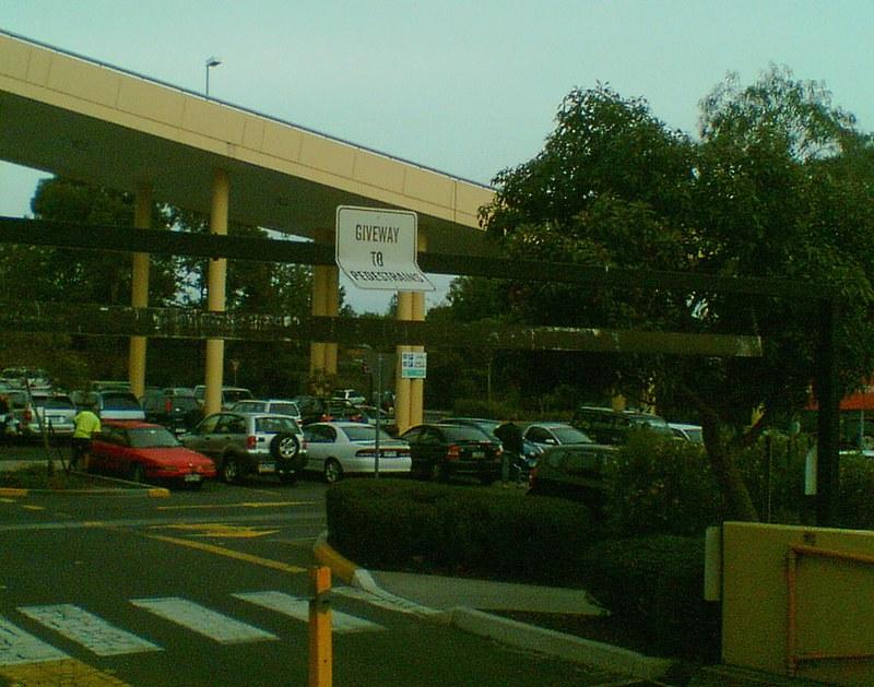 Southland shopping centre sign typo