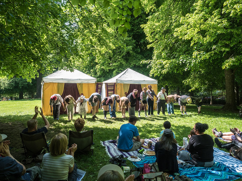Shakespeare Opsfest in Laurelhurst Park