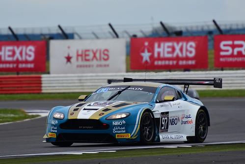 Ahmad Al Harthy - Jonny Adam, Aston Martin V12 GT3, Blancpain GT Series Endurance Cup, Silverstone 2017