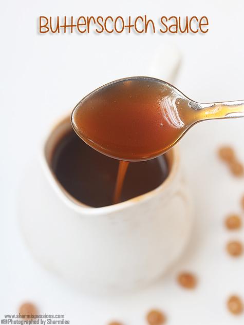 Butterscotch sauce recipe