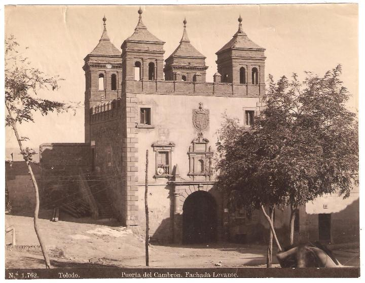 Puerta del Cambrón en 1897 por Rafael Garzón