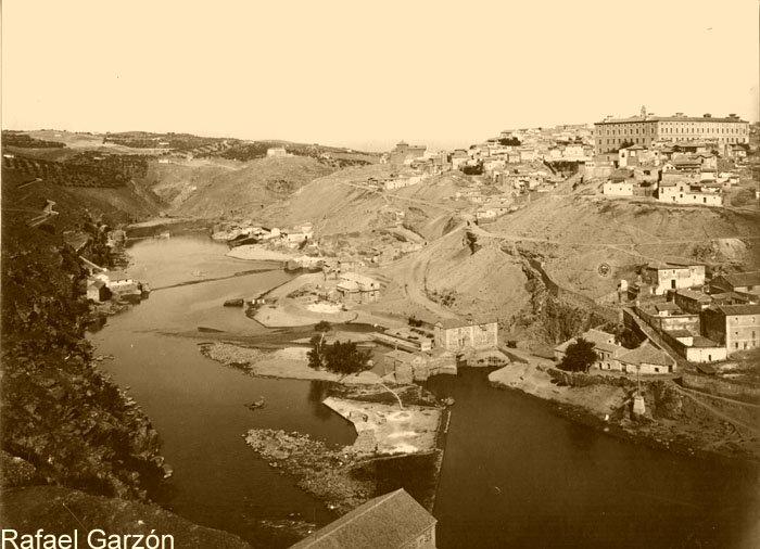 Vista de Toledo en 1897 por Rafael Garzón