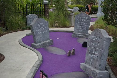 Hollywood Drive-In Golf: The Haunting of Ghostly Greens | by Disney, Indiana
