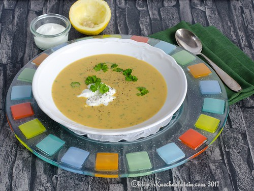 Curried sweet potato soup (2)
