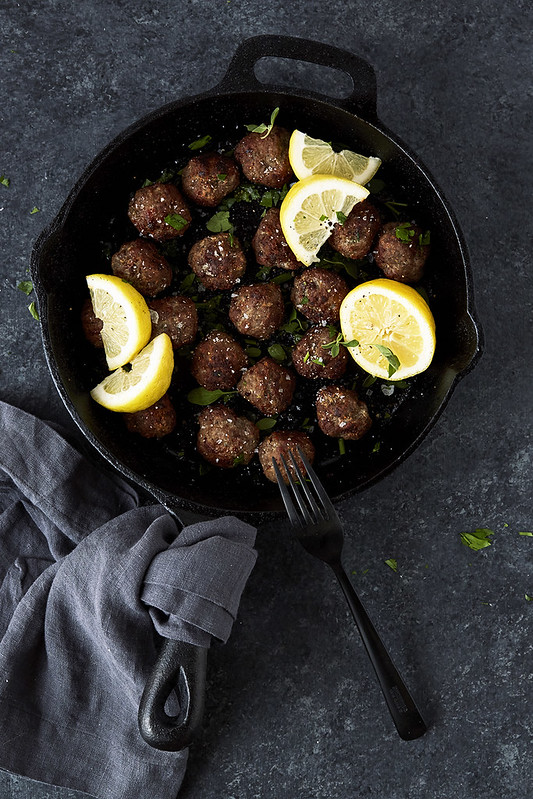 Greek Gyro Meatballs