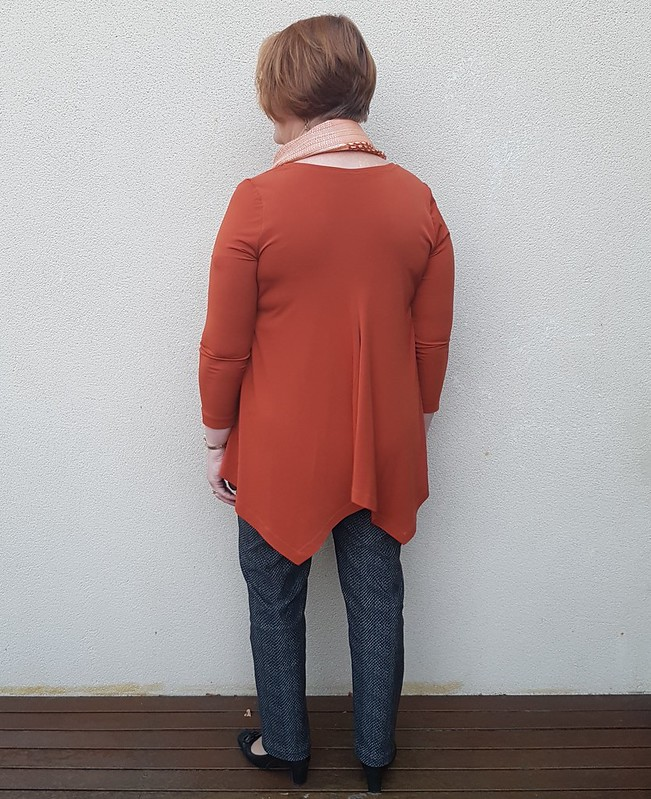 Simplicity 1323 top in dry knit from Super Cheap Fabrics