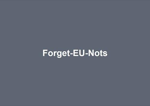 Forget-EU-Nots