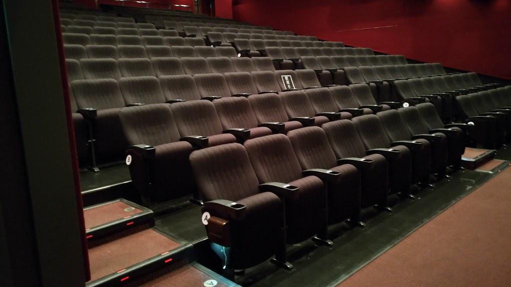 スクリーン1劇場内