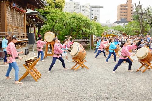 Kameido tenjin wisteria festival 2017 10