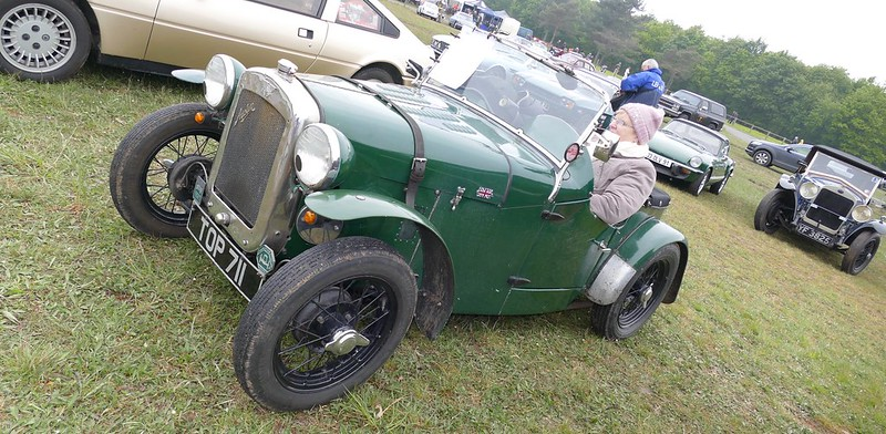 Austin Seven green british - Vintage Revival 2017 33719296304_79dbbef966_c