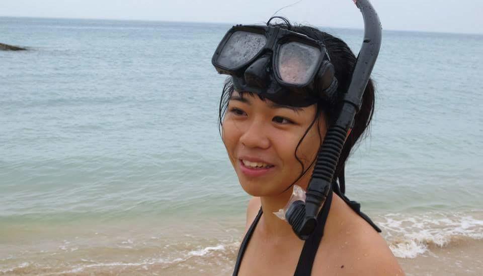 作者照片。澎湖青年陣線執行長 王南昕。