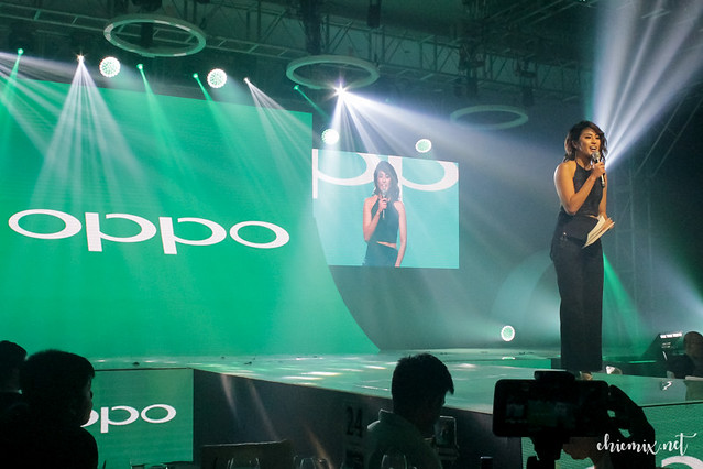 Gretchen Ho hosting for OPPO F3