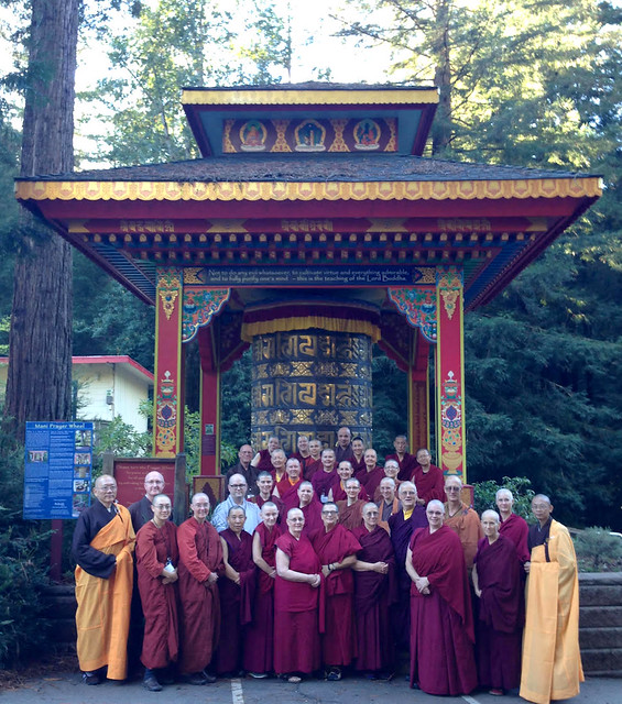 Western Buddhist Monastics Gathering 2016 photo courtesy of Vajra Dakini Nunnery