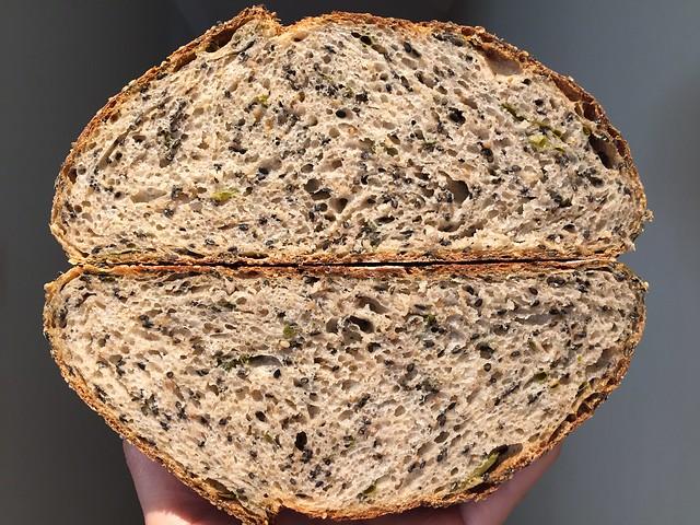 Sesame / Green Onions Bread
