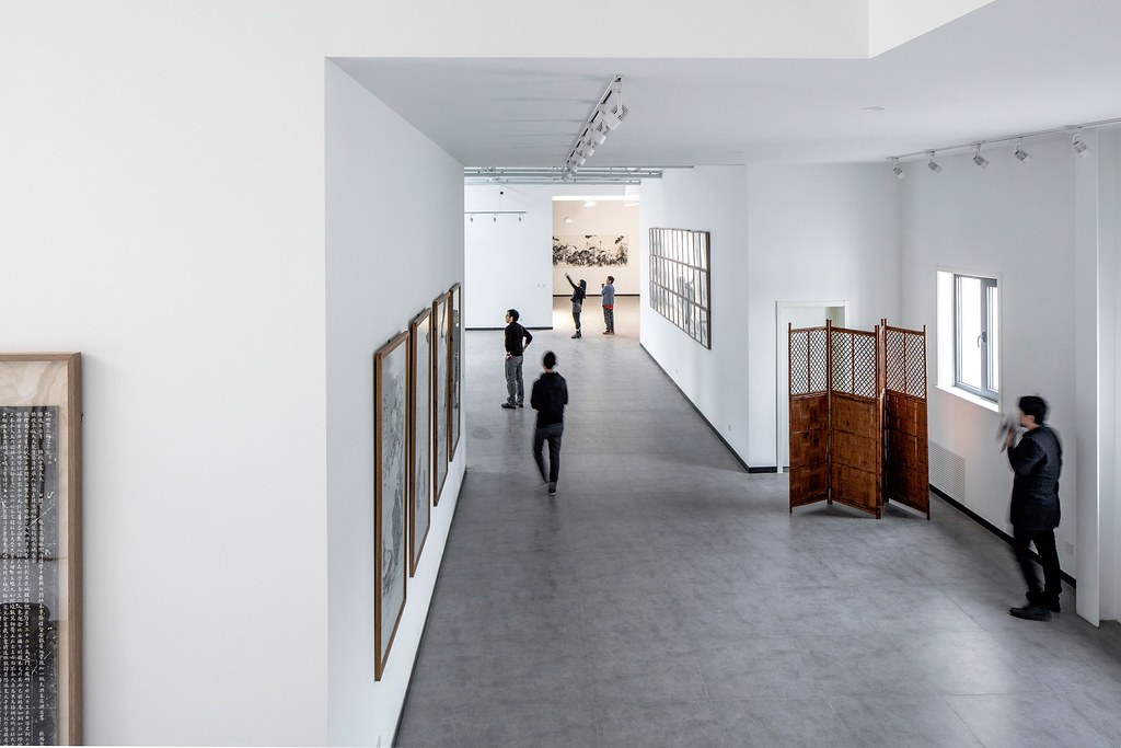 An art Studio design of Juxtapositions by Office PROJECT in Beijing, China Sundeno_15