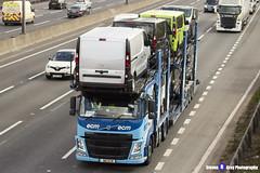 Volvo FM Transporter - N10 ECM - ECM - M1 J10 Luton, Bedfordshire - Steven Gray - IMG_8052