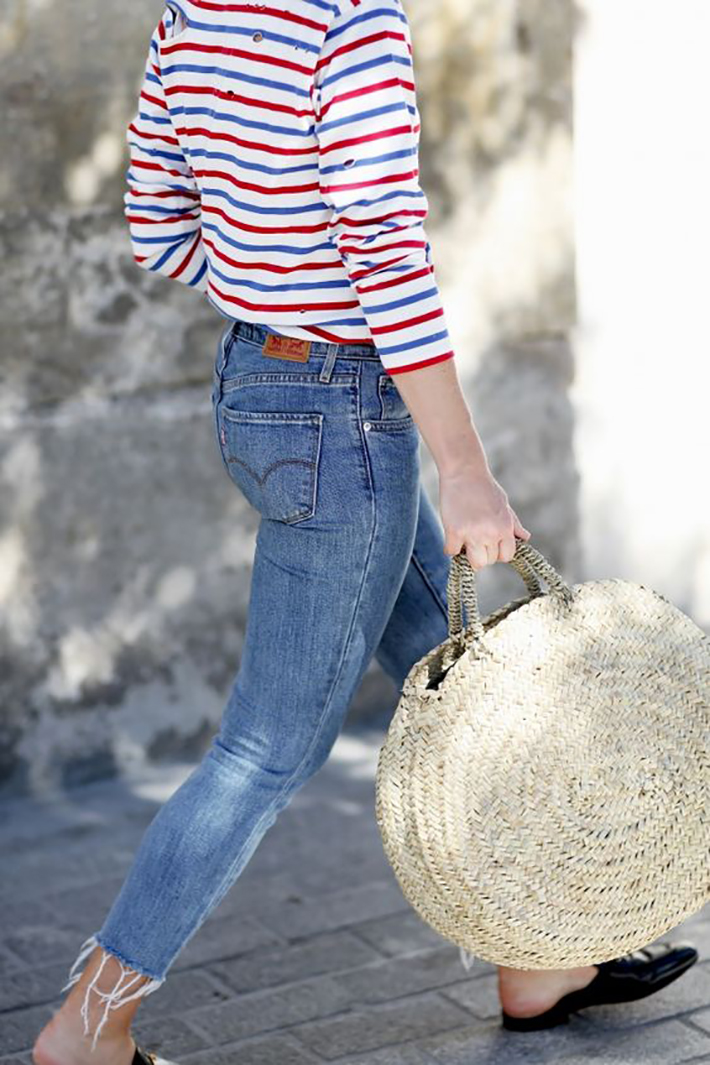 wicker bag street style outfits inspiration accessories fashion trend style summer 20172