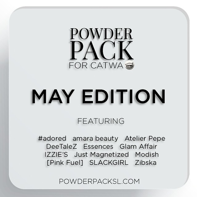 Powder Pack Catwa May Edition