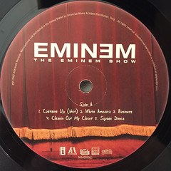 EMINEM:THE EMINEM SHOW(LABEL SIDE-A)