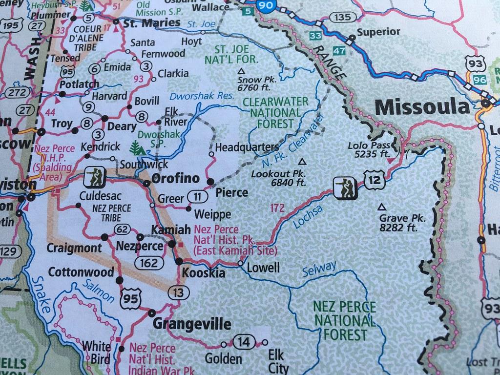 Lolo Pass From Missoula Mt To Kooskia Idaho Marcy Flickr