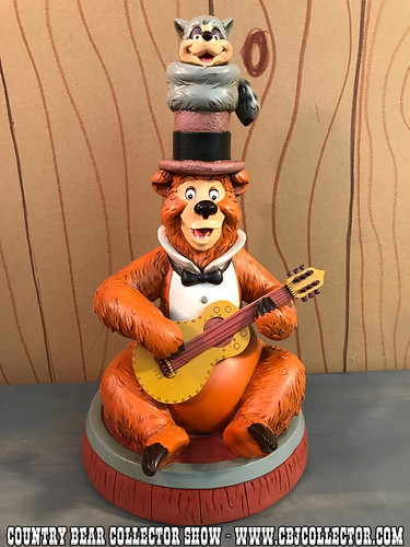 2011 Art of Disney Theme Parks Country Bear Jamboree 40th Anniversary Statue - Country Bear Collector Show #100
