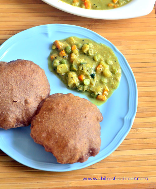 Vegetable sagu recipe - Karnataka