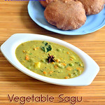 Saagu recipe / mixed vegetable sagu recipe