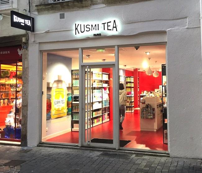Kusmi Tea, thés et infusions de qualité ouvre à La Rochelle