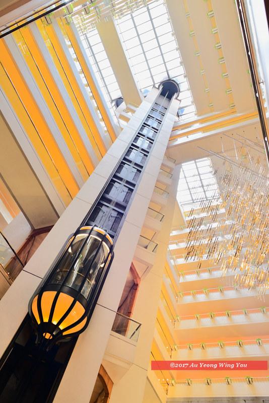 Singapore 2017: Regent Hotel Interior