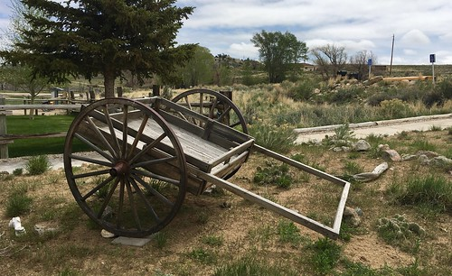 Handcart, Wyoming. From The Art of Road Tripping, Part 2: Remaining Open
