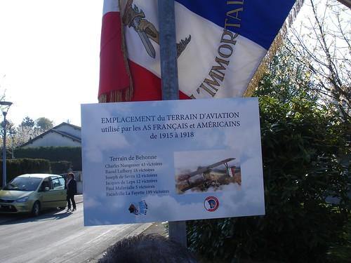 Inauguration plaques commune de Behonne
