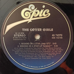 THE COVER GIRLS:WISHING ON A STAR(LABEL SIDE-B)