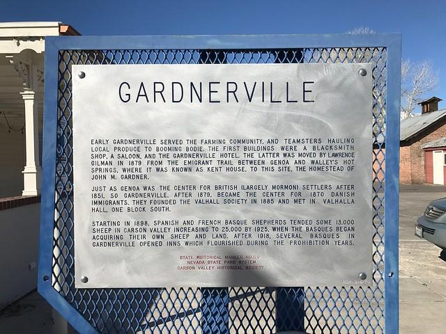 Nevada Historical Marker #129
