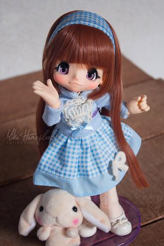 Blue dress gift