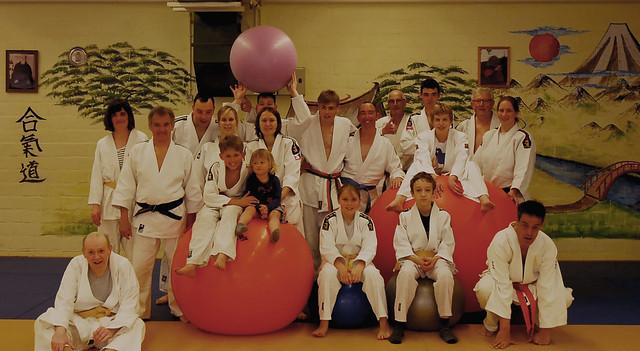 groepsfoto gasttraining G-judo