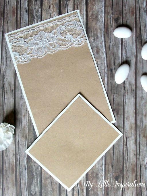 Tutorial Inviti e partecipazioni Matrimonio Rustico Romantico - MLI 5