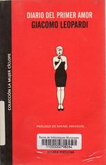 Giacomo Leopardi, Diario del primer amor