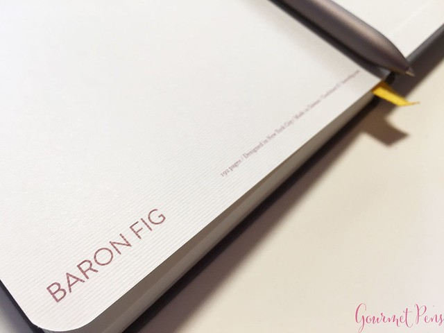 Review @BaronFig Confidant Notebook & Squire Rollerball Pens 34
